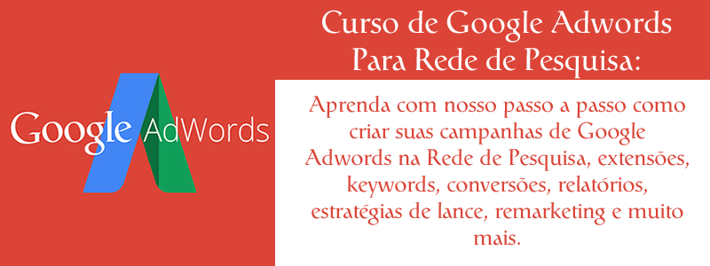 Curso de Google Adwords - Capa