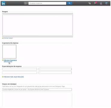Administradores - company page linkedin