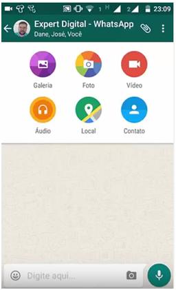 Anexos ao Grupo - Grupos no Whatsapp