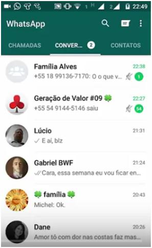 Conversas - Whatsapp Web como funciona