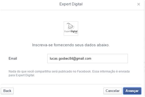 Cadastrando Lead- Facebook Leads Ads