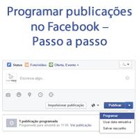Programar publicações no Facebook – Passo a passo