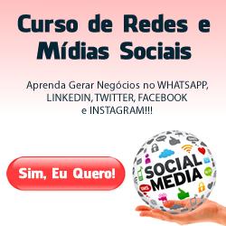 Redes e Mídias Sociais - R$ 597,00