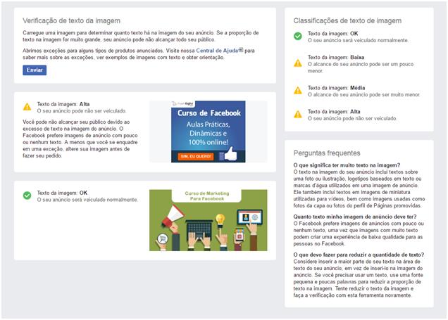 Ferramenta de Grade Facebook - Facebook Muda a Regra dos 20% de Texto em Imagens