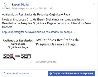 Usando facebook ads para aumentar curtidas e buscas - O guia definitivo para o marketing seu negócio no Facebook