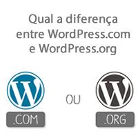 Qual a diferença entre WordPress.com e WordPress.org