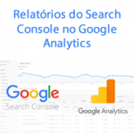 Relatórios do Search Console no Google Analytics