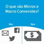 O que são Micros e Macro Conversões?