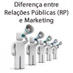 Diferença entre Relações Públicas (RP) e Marketing