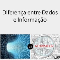Diferença entre Dados e Informação