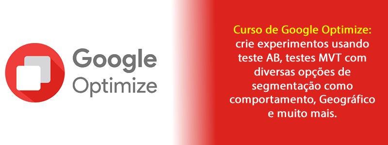 Curso de Google optimize - Online