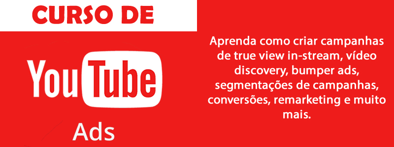 Curso de Youtube Ads Expert - Online