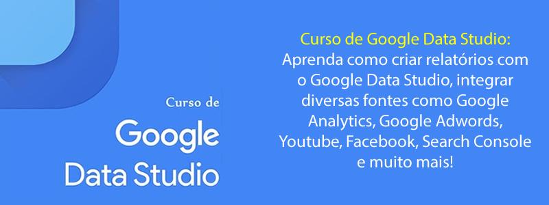 Curso Google Data Studio Online