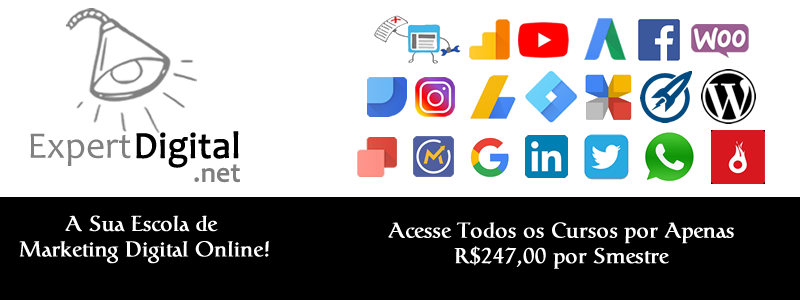 Escola de Marketing Digital - R$247