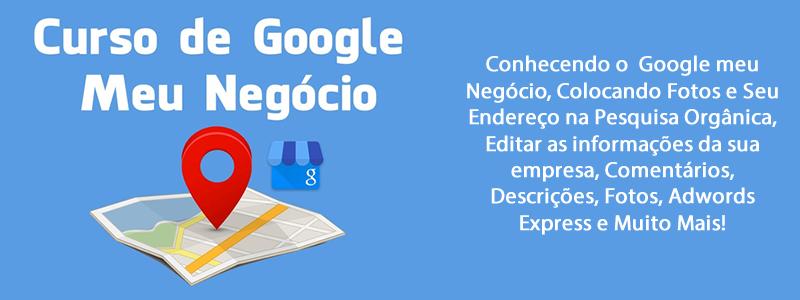 Curso Google Meu Negócio Online