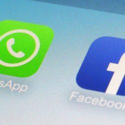O que há com o botão WhatsApp no seu aplicativo do Facebook