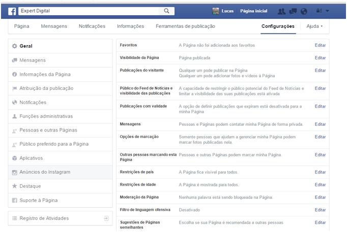 Conectando o facebook ao Instagram - Como Anunciar no Instagram