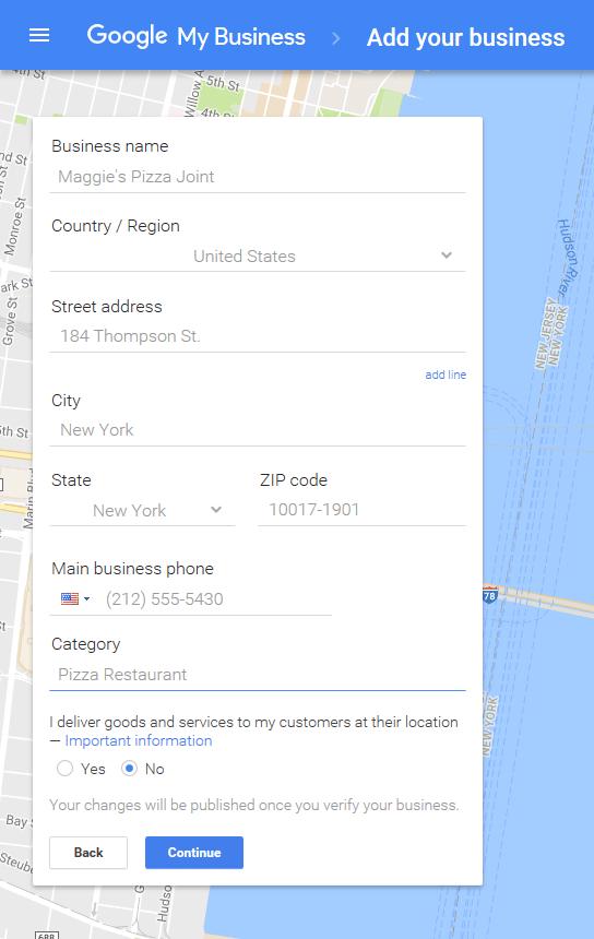 Google Meu Negócio - Adicione seu Negócio