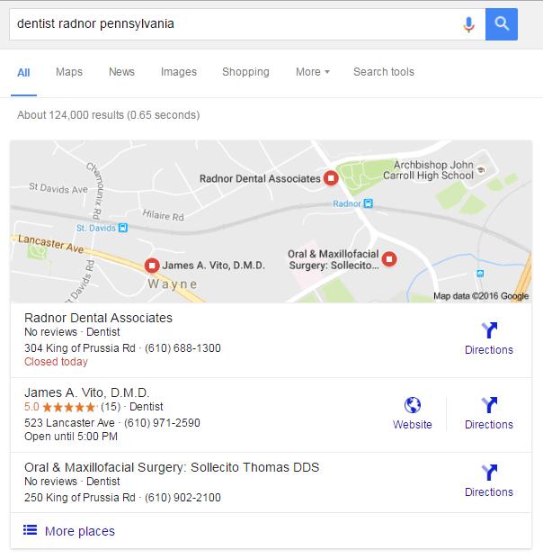Google Meu Negócio - Comentários