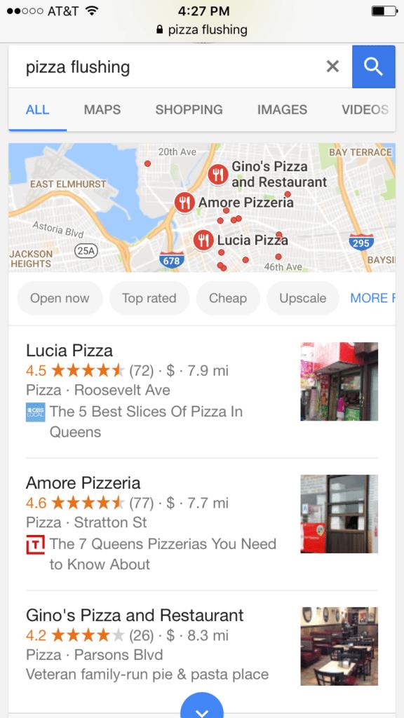 Google Meu Negócio - Mobile Local