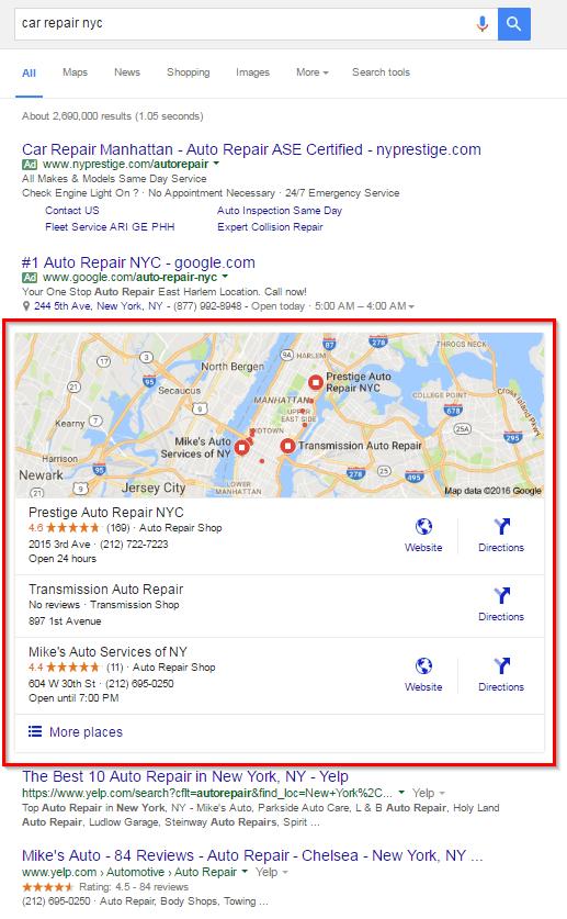O que é o Google My Business